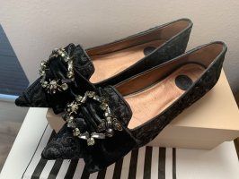 Ras Ballerina's met kant zwart