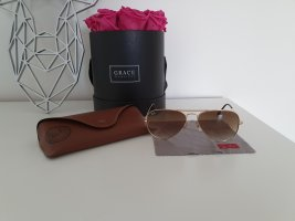 Ray Ban Glasses cognac-coloured