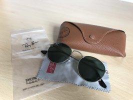 Ray Ban Aviator Glasses green grey-silver-colored