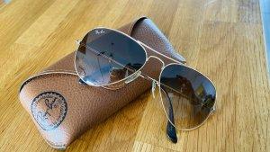 Ray Ban Gafas marrón-color oro