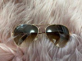 Ray ban aviator braun Gold sonnenbrille