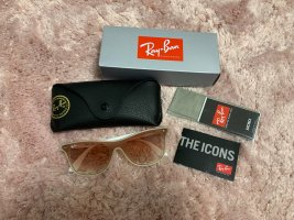 Ray Ban Retro Glasses white-rose-gold-coloured