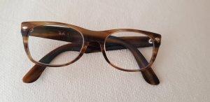Ray Ban Panto Glasses dark brown