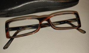 Ray Ban Glasses cognac-coloured-black brown