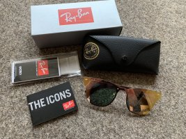 Ray Ban Retro Glasses rose-gold-coloured-gold-colored