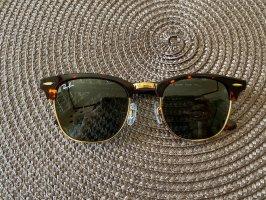 Ray Ban Lunettes de soleil angulaires multicolore verre