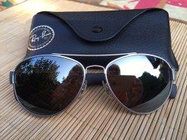 Ray Ban Gafas negro-color plata