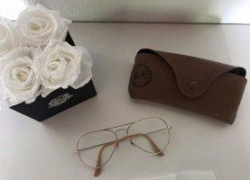 Ray Ban optische Brille / Sonnenbrille gold wie NEU