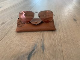 Ray Ban Aviator Glasses silver-colored-pink