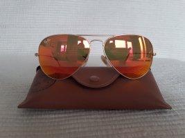 Ray Ban Aviator Glasses orange