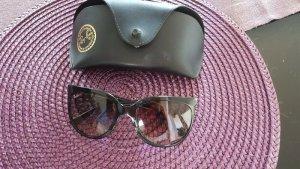 Ray Ban Angular Shaped Sunglasses black-silver-colored