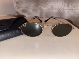 Ray Ban Okulary retro czarny-brązowy