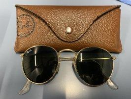 Ray Ban Gafas de sol redondas negro-color oro