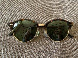 Ray Ban Lunettes de soleil ovales multicolore verre