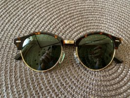 Ray ban runde clubmaster sonnenbrille