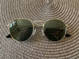 Ray Ban Owalne okulary przeciwsłoneczne srebrny-szary Szkło