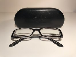 Ray Ban Sehbrille, RB 5246, schwarz, transparent