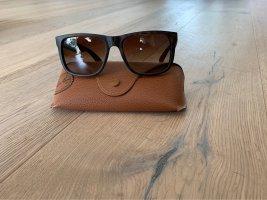 Rayban Angular Shaped Sunglasses brown