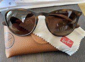 Ray Ban Oval Sunglasses brown