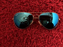 Ray Ban Sonnenbrille Aviator verspiegelt