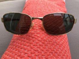 Ray Ban Hoekige zonnebril goud-groen-grijs Metaal