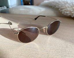 Ray Ban Gafas de sol redondas color oro-marrón