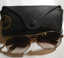 Ray Ban Sonnenbrille gold original