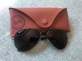 Ray Ban Pilotenbril donkerbruin