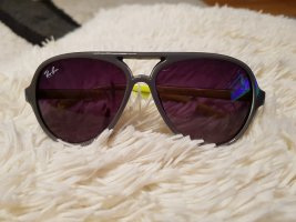Ray Ban Sonnenbrille Pilotenbrille RB4125 col 11 dunkel grau neongelb