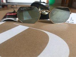 Ray-Ban Unisex RB3556N Octagonal Flat Sunglasses