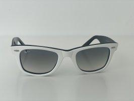 Ray Ban Retro Glasses white-black