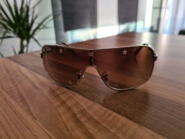 Rayban Oval Sunglasses gold-colored