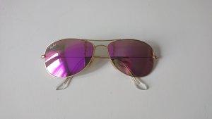 Rayban Gafas de sol ovaladas color oro-rosa