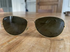 Rayban Glasses gold-colored-dark green