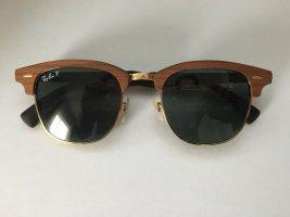 RayBan Sonnenbrille Holz Polarisiert