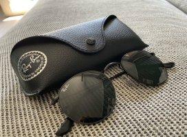 Rayban Okrągłe okulary przeciwsłoneczne czarny