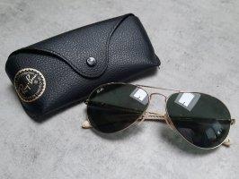 Rayban Aviator Glasses cream-green grey