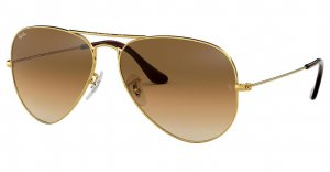 RayBan Sonnenbrille RB3025 Aviator Large Metall