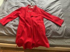 Marynarski płaszcz czerwony
