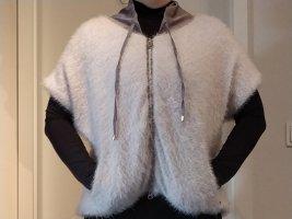 Sportalm Giacca in eco pelliccia grigio chiaro