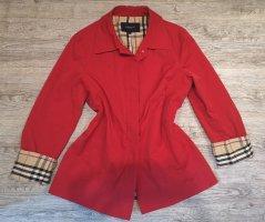 --Reduziert--Wunderschöner Original Burberry Blazer Jacke rot Gr M 38
