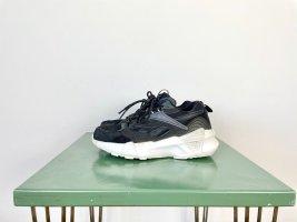 Reebok Aztrek Double Nu Laces Gr. 38 schwarz weiss Plateau Sneaker Low-Top Chunky Classic