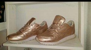 Reebok classic leder sneaker schuh rose gold 38