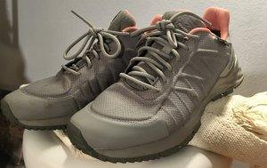Reebok Lace-Up Sneaker grey polyurethane