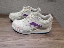 Reebok sneaker Turnschuhe 38 beige creme lila blau color blocking