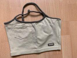 Reebok Sporttop grijs-groen-khaki