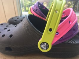 Crocs Basket hook-and-loop fastener multicolore