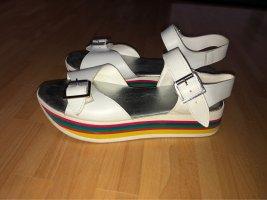 Bata Plateauzool sandalen veelkleurig