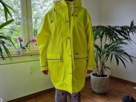 Schmuddelwedda Impermeabile pesante giallo neon