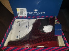 Tom Tailor Stivale di gomma bordeaux